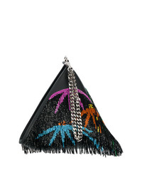 Les Petits Joueurs Sequinned Pyramid Clutch