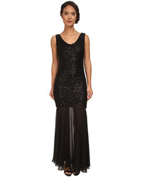 Alejandra Sky Esmeralda Sequin Long Gown