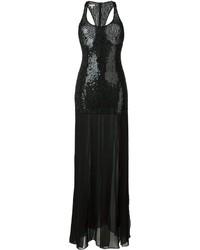 Michael Kors Michl Kors Sequin Embellished Long Dress