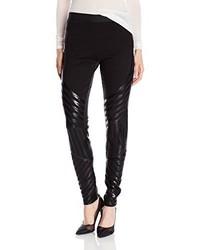 BCBGMAXAZRIA Lacie Linear Motif Sequin Legging