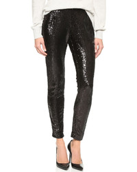 Cupcakes and cashmere plaza sequin trousers medium 383703