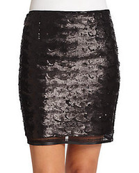 Elie tahari alexis sequin skirt medium 96535