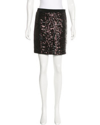 Tory Burch Sequined Mini Skirt