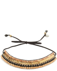 Black Sequin Necklace