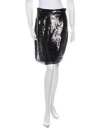 Proenza Schouler Sequin Pencil Skirt