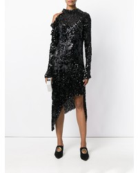 Magda Butrym Asymmetric Sequin Dress