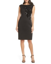 Harper Rose Sequin Swath Sheath Dress