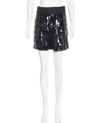 See by Chloe See By Chlo Sequined High Rise Shorts
