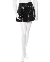 Diane von Furstenberg Sequin Mini Shorts