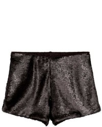 H&M Sequined Shorts