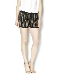 Wish Collection Sequin Track Shorts