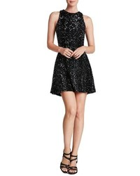 Dress the Population Mia Sequin Skater Dress