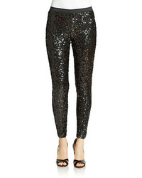 French Connection Cosmic Sequin Skinny Pants