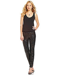 French Connection Ozlem Sequined Skinny Pants
