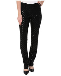 NYDJ Samantha Slim Quilted Sequin