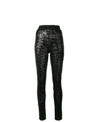 Amen Sequinned Skinny Trousers