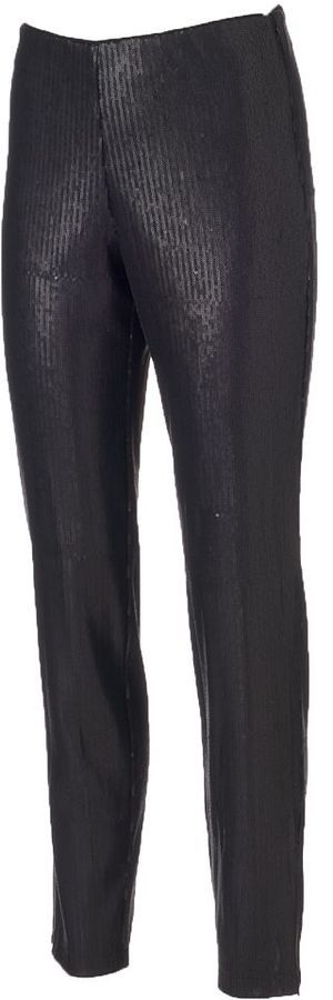 Wdny Black Pull On Sequin Leggings