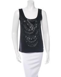 Givenchy Sequin Sleeveless Top