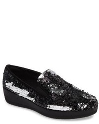 FitFlop Superskate Sequin Slip On Sneaker