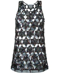 Givenchy Sequinned Star Tank Top