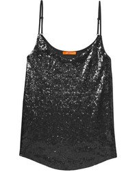 Joe Fresh Sequin Tank Blush
