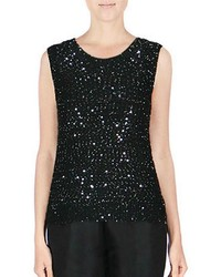 Endless Rose Sleeveless Sequin Tank