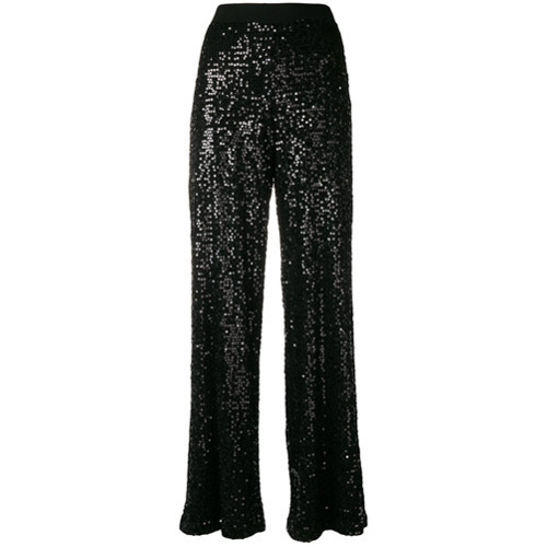 e61a96cb7de ... P.A.R.O.S.H. Sequined Flared Trousers ...
