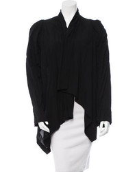 Ann Demeulemeester Asymmetrical Shawl Collar Cardigan W Tags