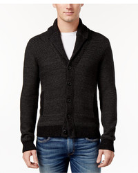 American Rag Colorblocked Texture Shawl Collar Cardigan Only At Macys
