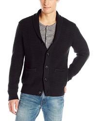 Calvin Klein Cotton Acrylic Shawl Collar Cardigan Sweater