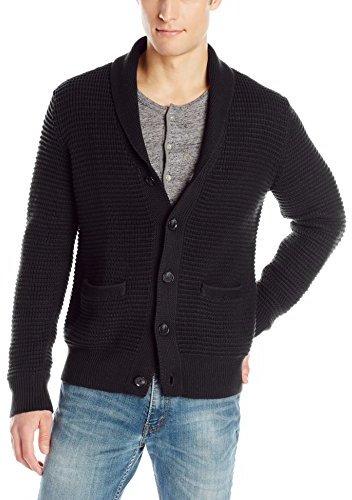 Calvin Klein Cotton Acrylic Shawl Collar Cardigan Sweater | Where ...