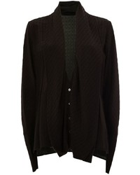 Haider Ackermann Draped Shawl Collar Cardigan
