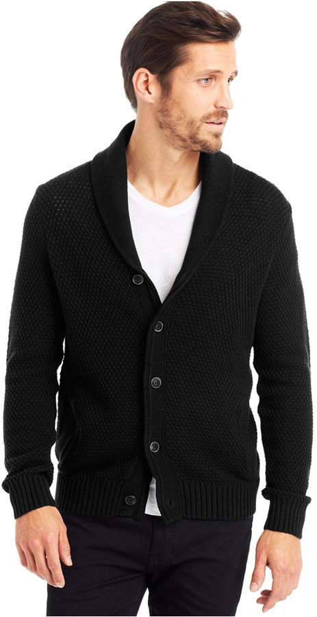 Kenneth Cole New York Shawl Collar Cardigan | Where to buy & how ...