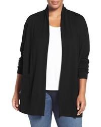 Plus size shawl collar cardigan medium 1009178