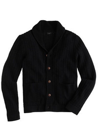 J.Crew Rustic Cotton Shawl Collar Cardigan Sweater