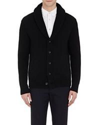 rag & bone Shawl Collar Curtis Cardigan Black Size M
