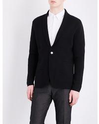 Hardy Amies Shawl Collar Knitted Cardigan