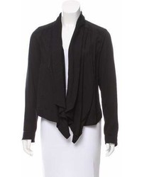 AllSaints Shawl Lapel High Low Cardigan