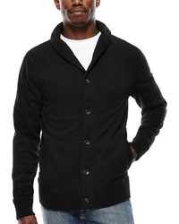 Arizona Solid Fleece Cardigan Sweater
