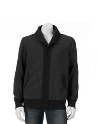 Sonoma Goods For Lifetm Shawl Collar Fleece Cardigan