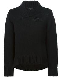 Ann Demeulemeester Shawl Collar Sweater