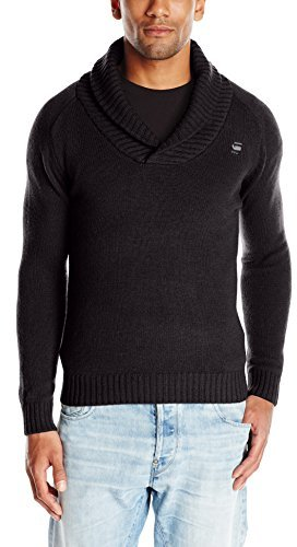 g star raw mens nimrod shawl collar cardigan long. Black Bedroom Furniture Sets. Home Design Ideas