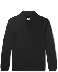 SASQUATCHfabrix. Shawl Collar Brushed Cotton Jersey T Shirt