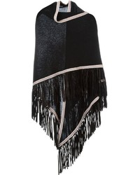 Antonia Zander Fringed Shawl