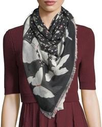 Pop butterfly shawl medium 5053786