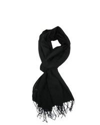 V fraas solid shawl wrap black one size medium 107778