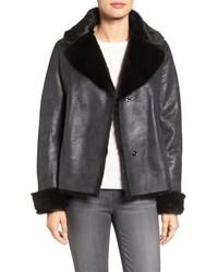 Faux shearling coat medium 785007