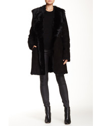 Andrew Marc Genuine Lamb Fur Coat