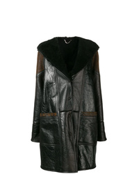 Golden Goose Deluxe Brand Hooded Panelled Midi Coat