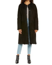 UGG Remy Reversible Genuine Shearling Coat